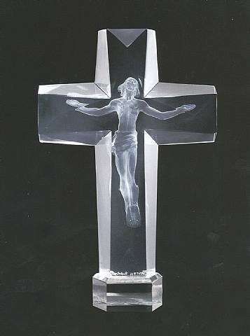 Cross of The Millennium, State I :: Frederick  Hart