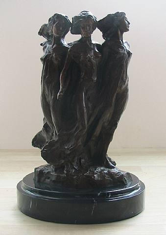 Daughters of Odessa, Maquette :: Frederick  Hart