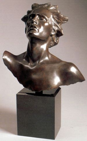 Head of Male, Celebration :: Frederick  Hart